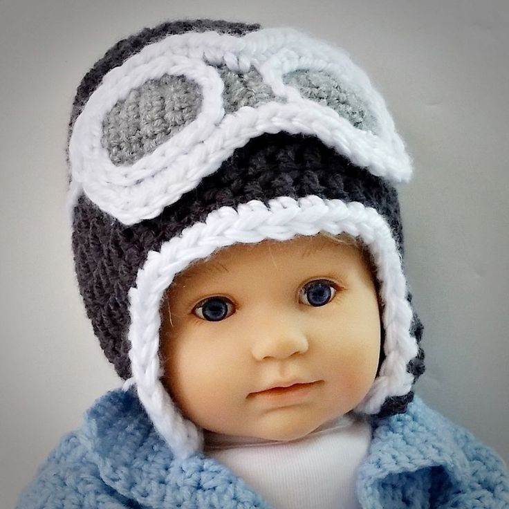 Baby Aviator Pilot Hat 6 - 18 months. How Much is Hand Made In USA Worth? #Handmade
