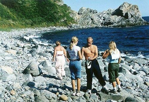 Vladimir Putin and family in Primorsky Krai