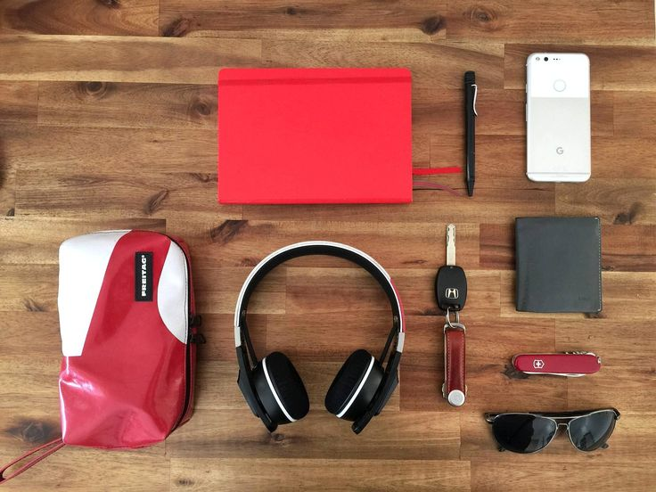 Favourite things  submitted by Jane Leung  Leuchtturm 1917 Medium Dotted Notebook  Lamy Safari Ballpoint Pen  Google Pixel 32gb  Bellroy Note Sleeve Wallet  Victorinox Compact  Orbitkey  Sennheiser Urbanite Headphones  Aviators  Recently scored new headphones seizing the chance to show off my other items :)