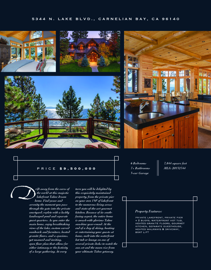9 Best Real Estate Brochures Images On Pinterest | Real Estate