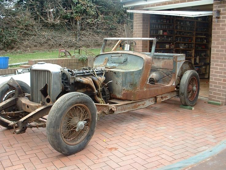 1947 Jaguar 'before'