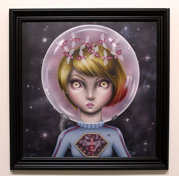 lowbrow, pop surrealisme, ilustración, painting, aerógrafo, toy art, sculpture, airbrush, drawing