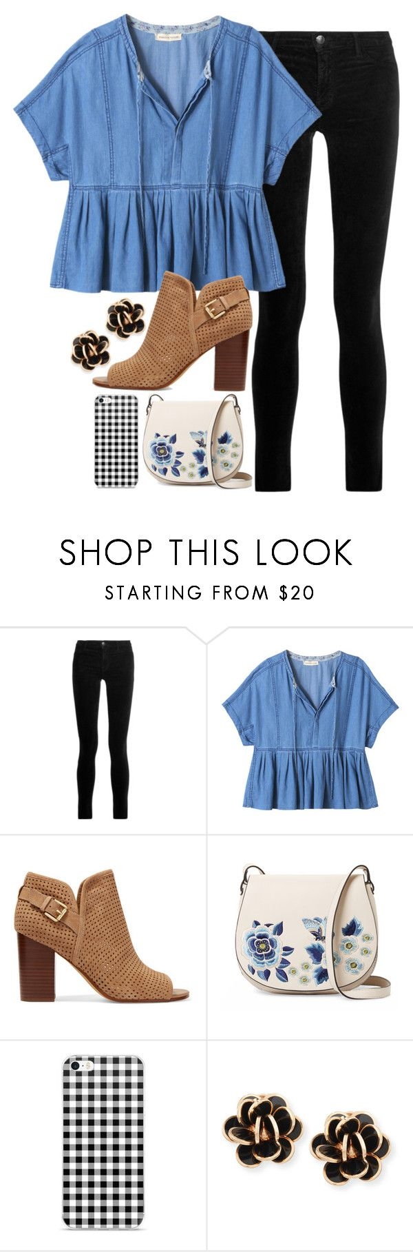 """""""I'm gonna harden my heart """" by legitimately-kierstin ❤ liked on Polyvore featuring J Brand, Rebecca Taylor, Sam Edelman, French Connection and Chantecler"""