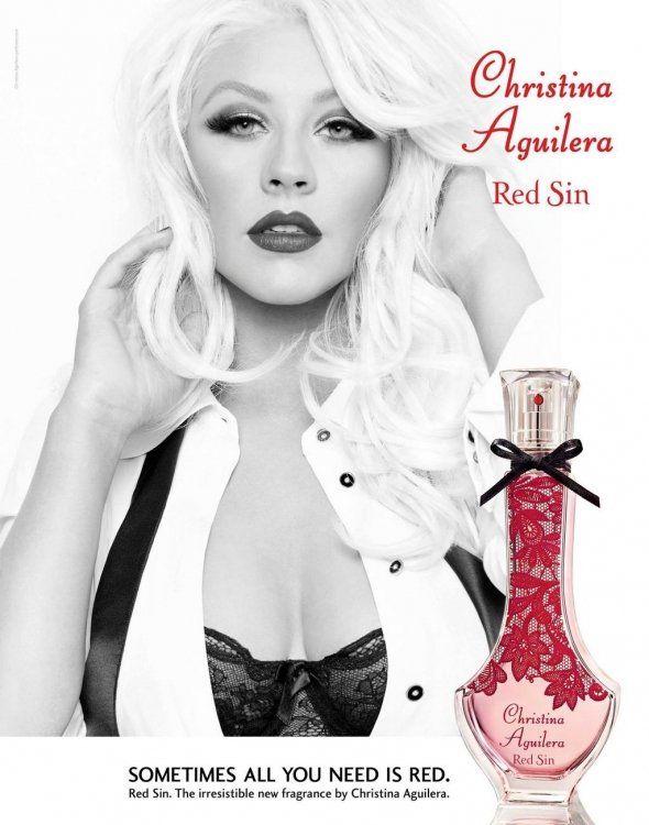 Christina Aguilera Red Sin #Christina_Aguilera #perfume