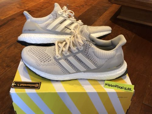 release date 70b16 eeb3c Adidas Ultra Boost 1.0 Chalk Cream Size 10.5 Off White Nmd ...