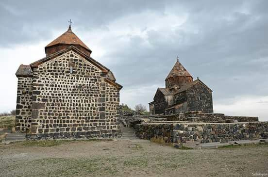 Sevanavank (Armenian: Սևանավանք) is a monastic complex located on a peninsula at the northwestern shore of Lake Sevan in the Gegharkunik Province of Armenia.Completed 9th century. Photo by Selumyan Photography #TheartsofArmenia #Armenia #Monastery #history #old #nation #religion https://www.instagram.com/the_arts_of_armenia/