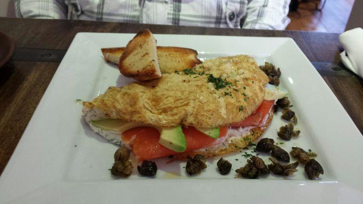 Cafe 89 - Smoked Salmon Omlette