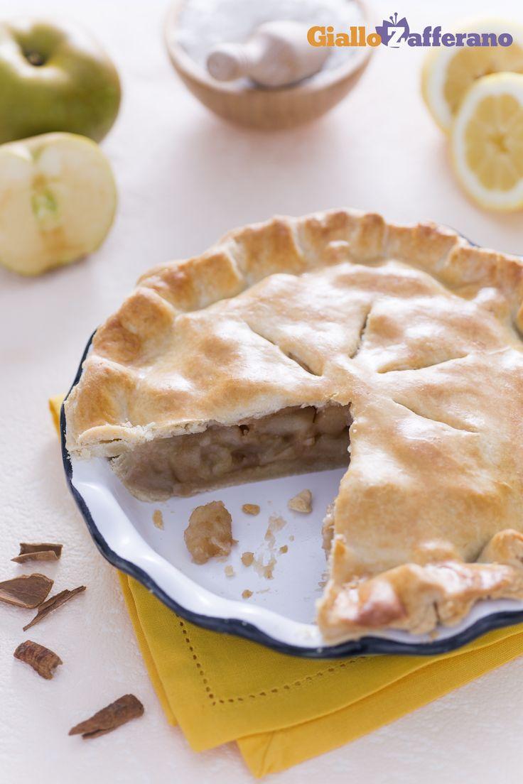 Quando si parla di cucina Americana, una delle #ricette che vengono subito alla memoria è senza dubbio la Apple Pie! #Thanksgivingday #thanksgiving http://speciali.giallozafferano.it/buon-appetito-america