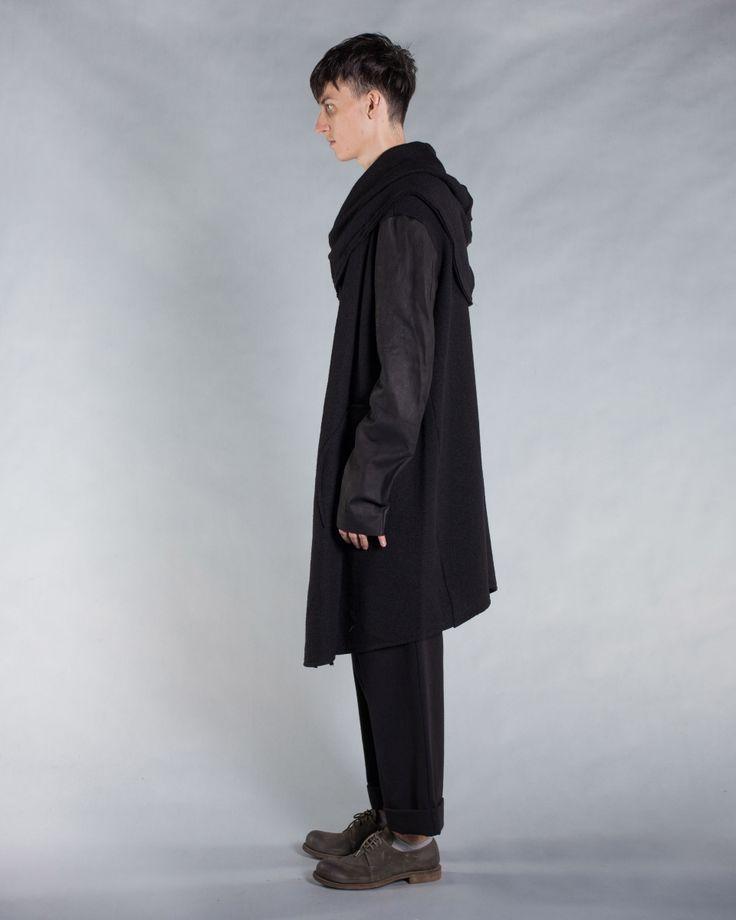 Мужское Пальто NOSTRASANTISSIMA, артикул: j056   BADDESIGN 139
