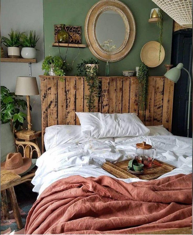 57 Gemütliche SchlafzimmerDekoIdeen im böhmischen Stil