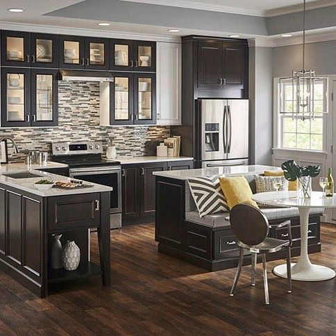 Best 25 lowes kitchen cabinets ideas on pinterest beige for Kitchen cabinets lowes with papiers peints cuisine