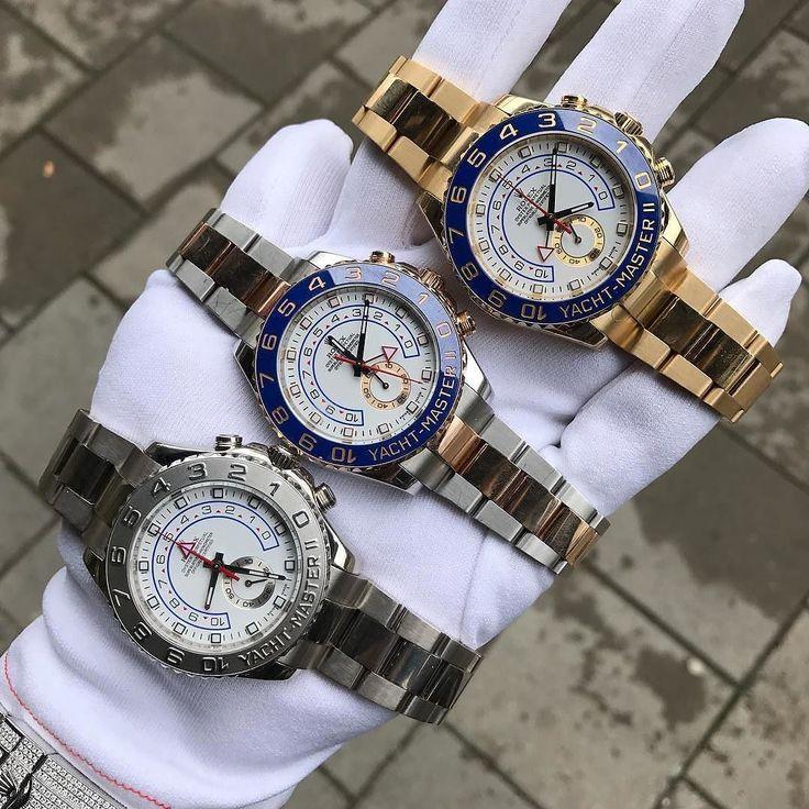 photo @hedensguld The Rolex Yacht-Master IIs in different... Whitegold. $24500 2 Tone. $17900 Yellowgold: $28900 #Rolex#rolexyachtmaster2#Goldbars#Gold#Diamond#Watch#Watchgame#Wristgame#Luxury#Audemarspiguet#Ap#Hublot#Cartier#Jewellery#London#Sweden#Göteborg @rolexshow_israel @rolexwrist @rolex @rolexwrist @rolexaholics @rolexaholics @rolex_lover @rolex.watches @d.rolexero @watchesofinstagram @thewatchlovers @ifuckinglovewatches @ifuckingloveluxuries @thewatchesarmy @luxurywatchlife…