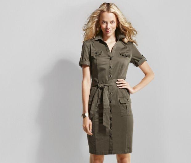 Сафари стиль в женской одежде