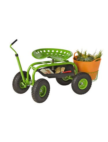 I Love My Garden Scooter, It Makes Weeding So Much Easier. Totally Worth The