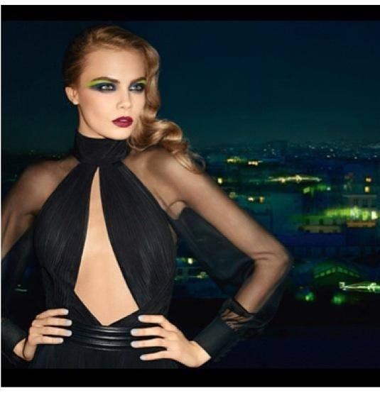 YSL Makeup: Cara delevigne