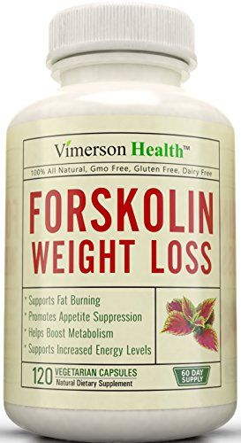 Forskolin Extract Extreme Weight Loss - 60 DAY SUPPLY - 100% All Natural Supplement. Best Diet Pills, Appetite Suppressant & Carb Blocker