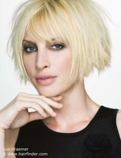 850 best short hairstyles images on pinterest short hairstyle short blonde bob with layers a lot of texture and a shorter back winobraniefo Image collections