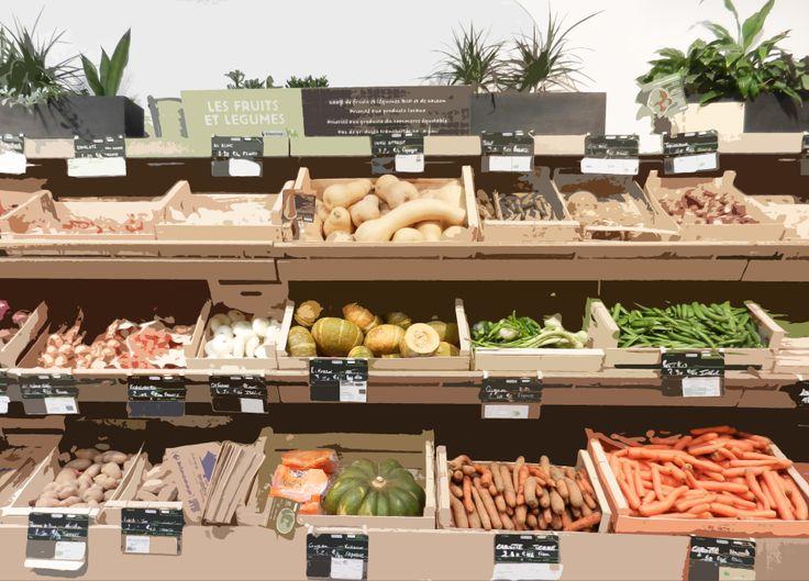 Fruits et Légumes - Biocoop 11e