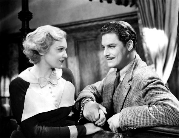 The 39 Steps - Madeline Carroll & Robert Donat