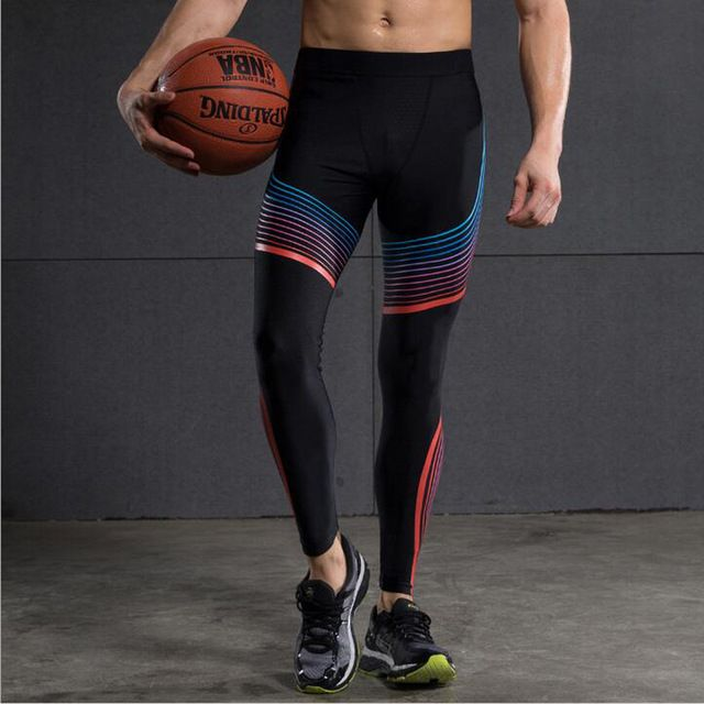 Check lastest price 2017 Compress Gymming Leggings Men  Fitness Workout Leggings Summer Sporting Thin Strip Fitness Male Long Pants just only $17.99 with free shipping worldwide  #pantsformen Plese click on picture to see our special price for you