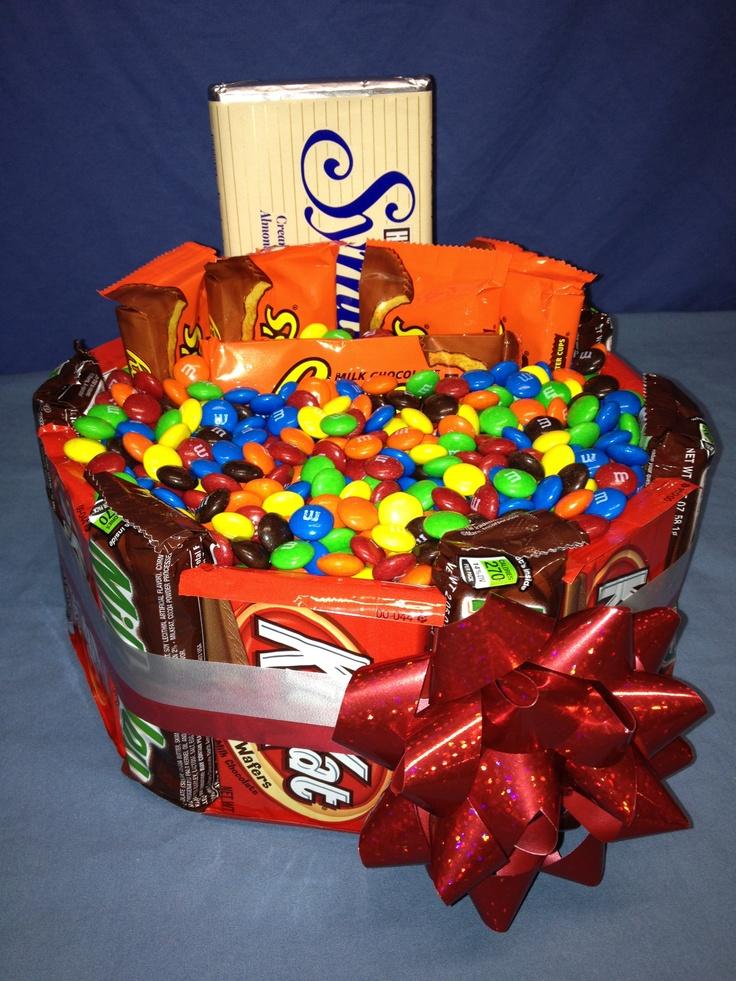 M s reese kit kat hershey milky way candy bar gift