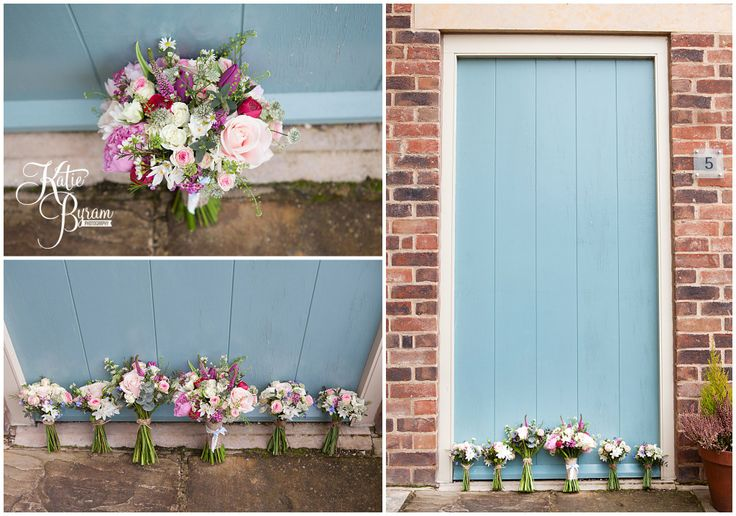Priory cottages wedding, wildflower bouquets, from Paperwhite UK, Yorkshire wedding, wedding flowers, wedding ideas