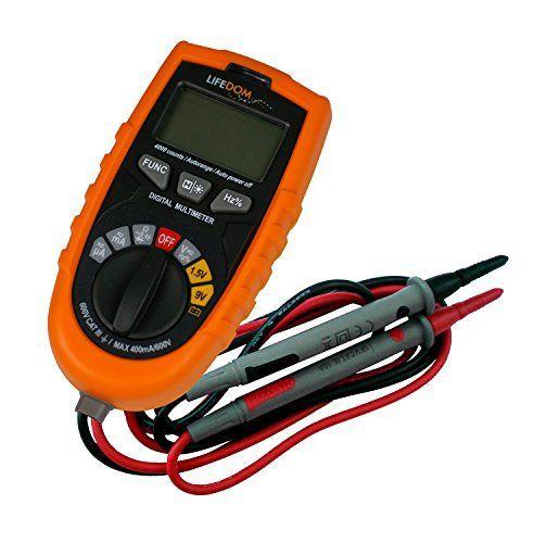 Multimètre digital auto avec détecteur de courant et de métal: Cet article Multimètre digital auto avec détecteur de courant et de métal…