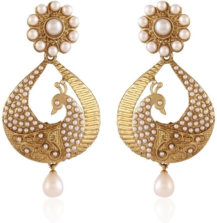#BuyFromLink --> http://fkrt.it/h2qZouuuuN I Jewels Traditional Peacock Shaped Pearl Alloy Chandbali Ear Cuff #Earring #Indianfashion #Gorgeous #look #style  #Shop #Buy #online #india #review The earrings are light in weight and the design is elegant. Its looks rich after wearing. Have bought jewellery from other brands, the packaging of I Jewels is excellent. The seller even provides extra back findings. I am in love with the design