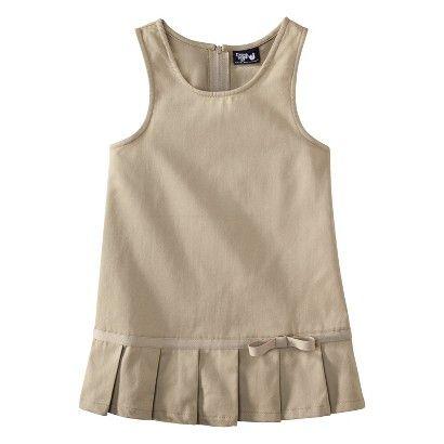 French Toast® Toddler Girls School Uniform Pleated Hem Jumper