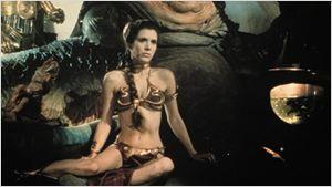 'Star Wars': Esto es lo que opinaba Carrie Fisher sobre el famoso bikini dorado de la princesa Leia