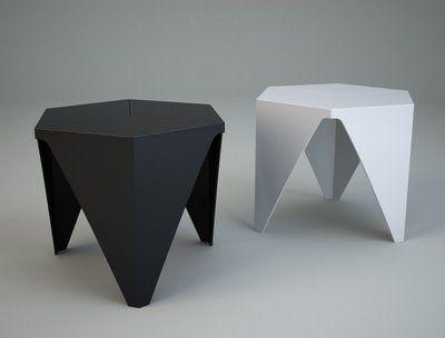 Prismatic Table, Vitra by Isamu Noguchi, 1957.