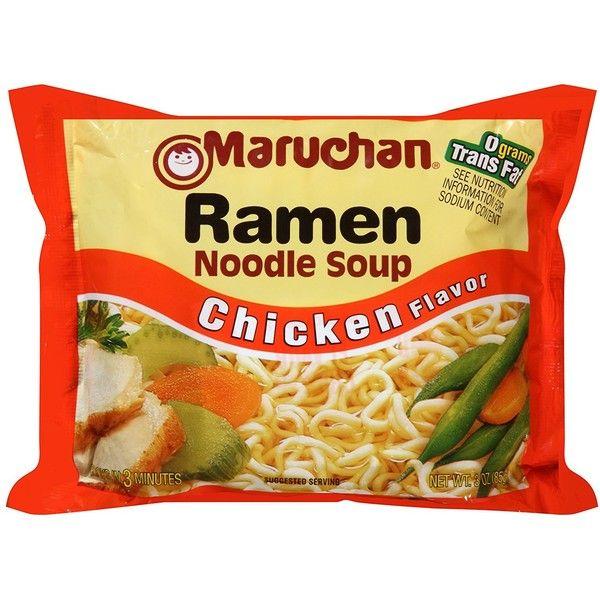 Amazon Com Maruchan Ramen Chicken Flavor Noodle Soup Pack Of