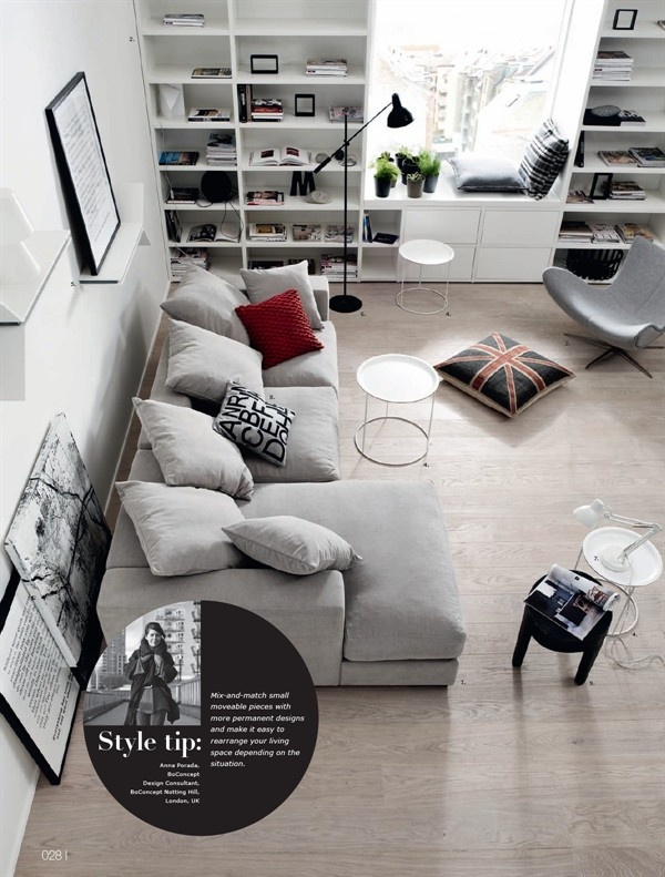 c mo medir espacios antes de comprar muebles boconcept. Black Bedroom Furniture Sets. Home Design Ideas