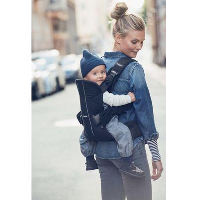 porte bebe one noir de babybjorn porte bebe ventral aubert