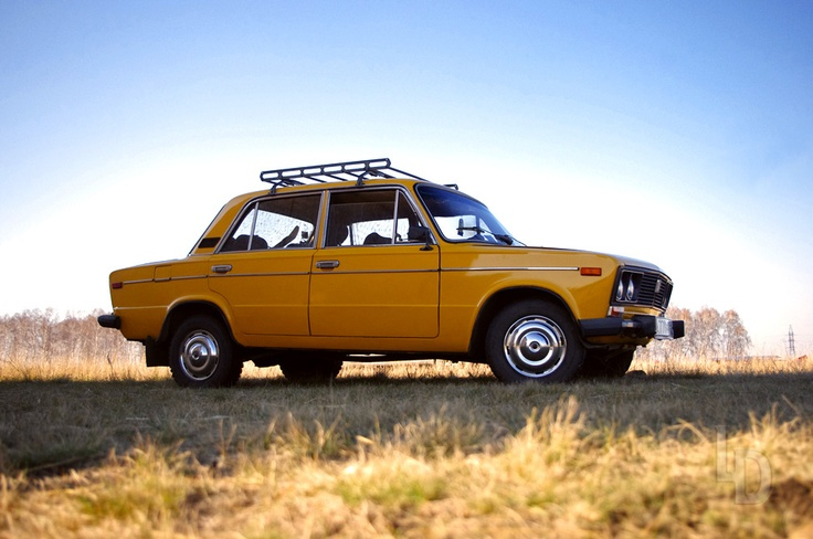 VAZ-2106, Russian car based on the Fiat 124.