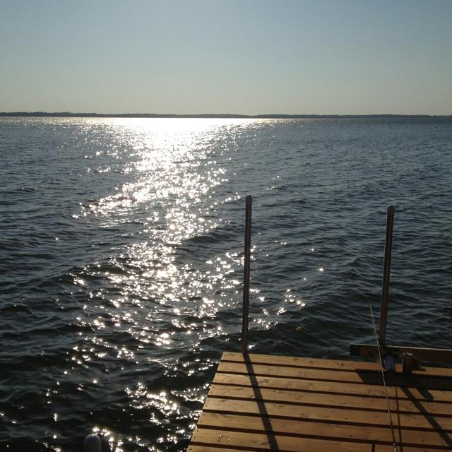 Spirit Lake, IA - Daytime Dock
