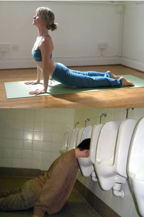 Drunk Fails Vs Yoga Poses : theBERRY
