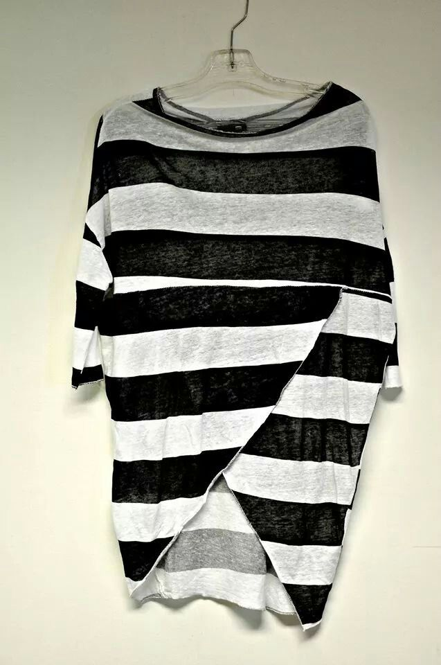 Chic Italian striped top at #NicciBoutiques #summer2014