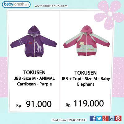Musim hujan? Pastikan si kecil hangat dengan Tokusen jaket bolak balik.  Hanya di www.babylonish.com