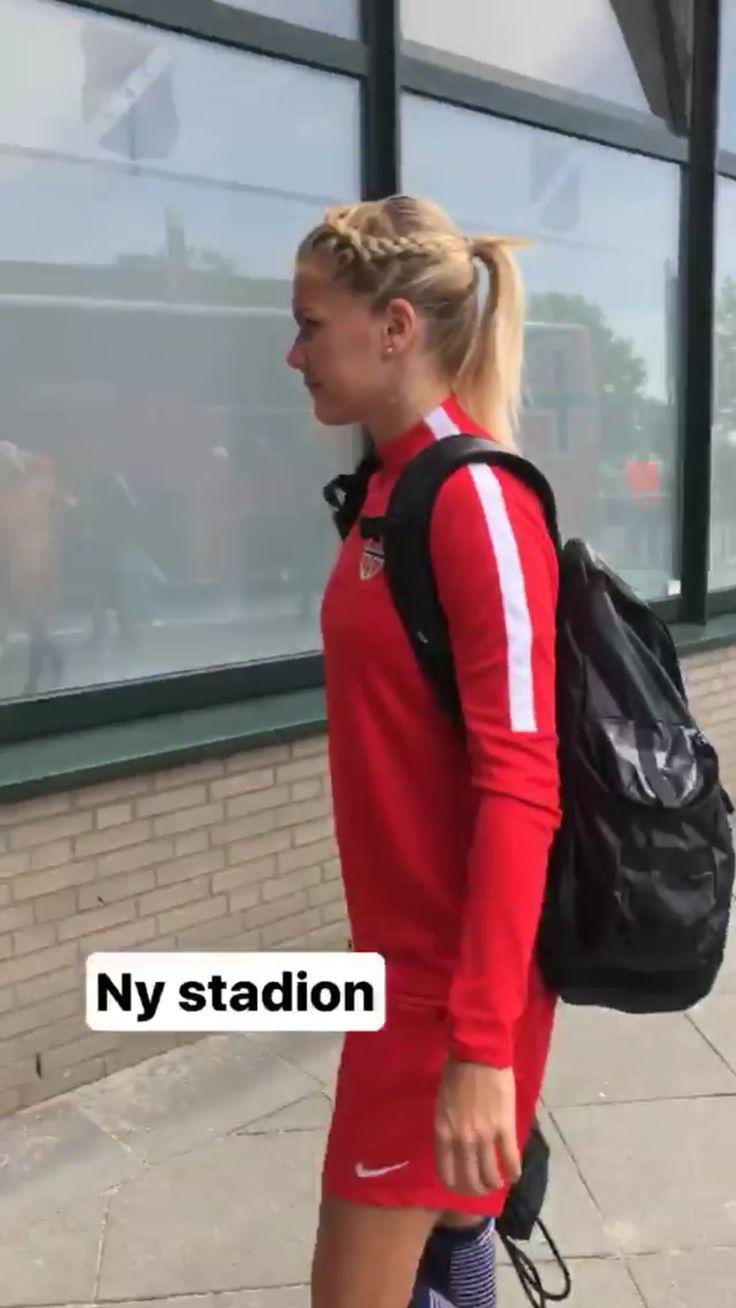 Ada Hegerberg during WEURO2017