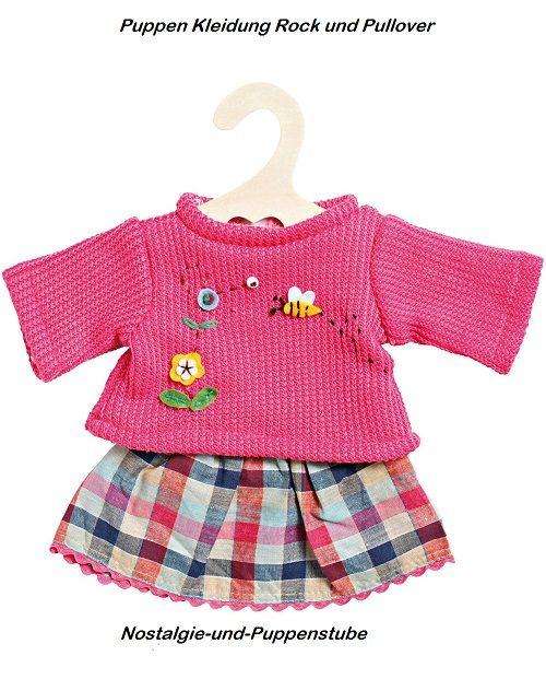 Puppen & Zubehör Heless Puppenkleidung gestreifte Unterwäsche in 3 Größen Kleidung & Accessoires