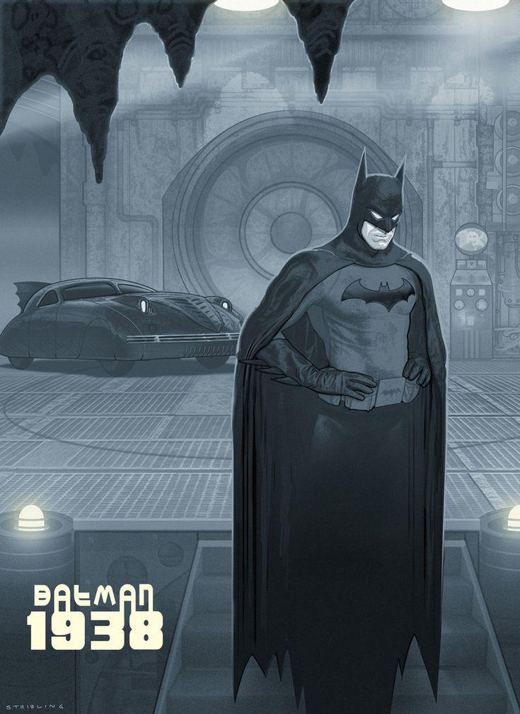 Batman 1938 // Michael Stribling