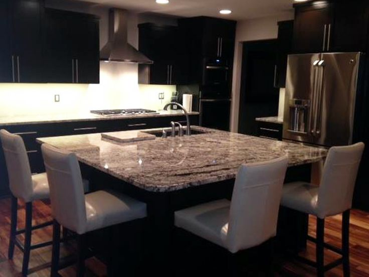 Alaskan White Granite Countertops With Matching Cutting Board
