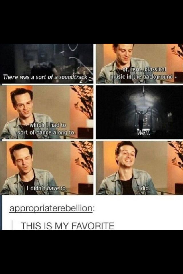 This is why we love Andrew Scott