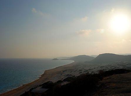 #Cipro, mare e cultura intorno alla Linea Verde; il sole scende sul sole mediterraneo © Luca Benedetti