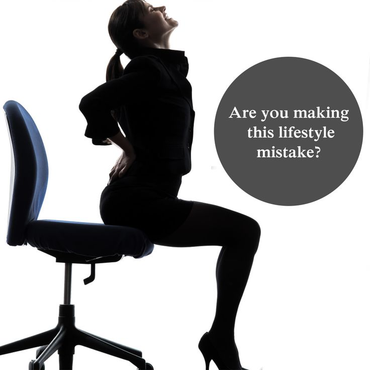 Back pain can make simple tasks like rising from a chair