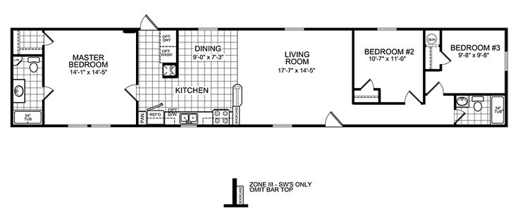 1000 ideas about mobile home floor plans on pinterest for 6 bedroom manufactured home floor plan