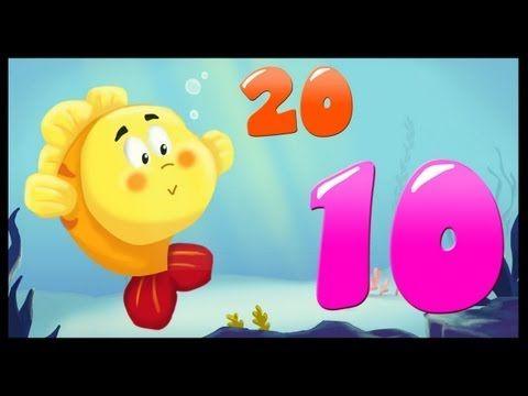 Apprendre les nombres de 10 à 20 (français) - YouTube