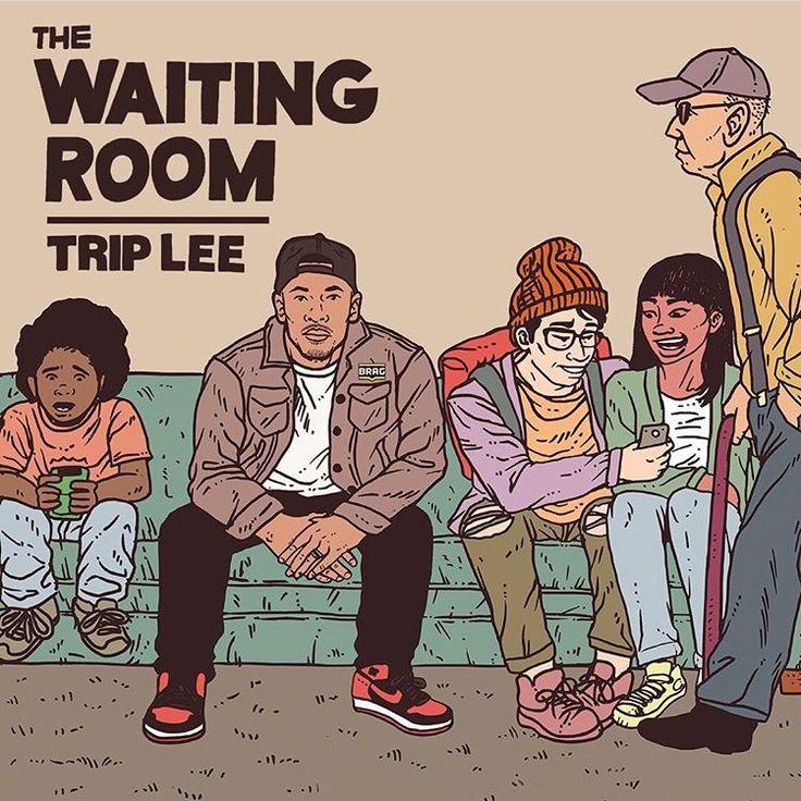 Trip Lee Reveals Cover Art & Track List for 'The Waiting Room' | @triplee @trackstarz - https://trackstarz.com/trip-lee-reveals-cover-art-track-list-waiting-room-triplee-trackstarz/