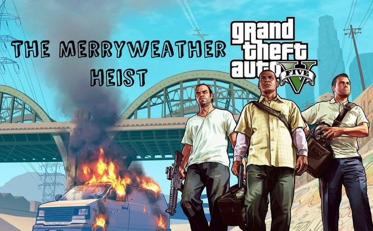 GTA 5 - Mission #32 - The Merryweather Heist